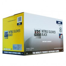 KBS Black Nitrile Gloves Case