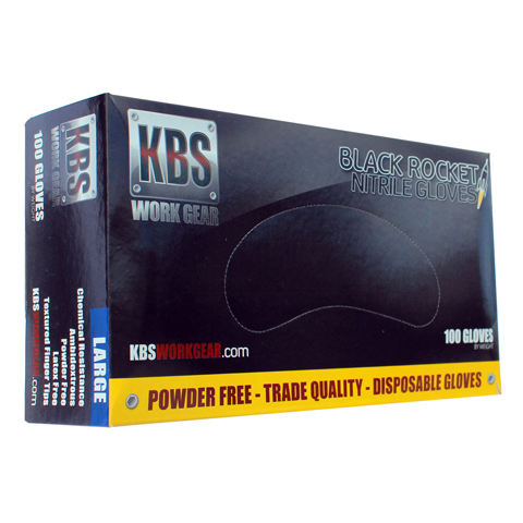 Black Rocket Gloves Box Large