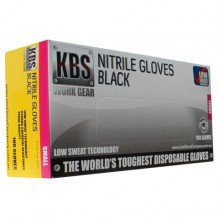 KBS Black Nitrile Glove Small